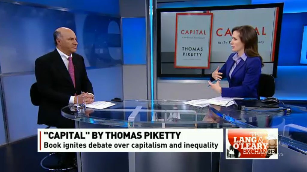 Kevin O'Leary tries to talk about capitalism, fails
